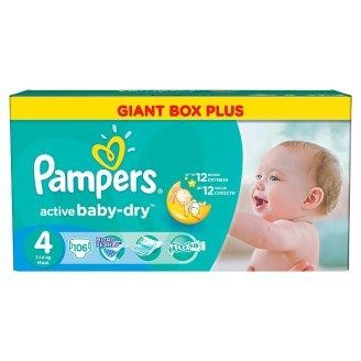 Pampers Pleny Active Baby 4 Maxi (7-14kg) Giant Box plus - 106ks